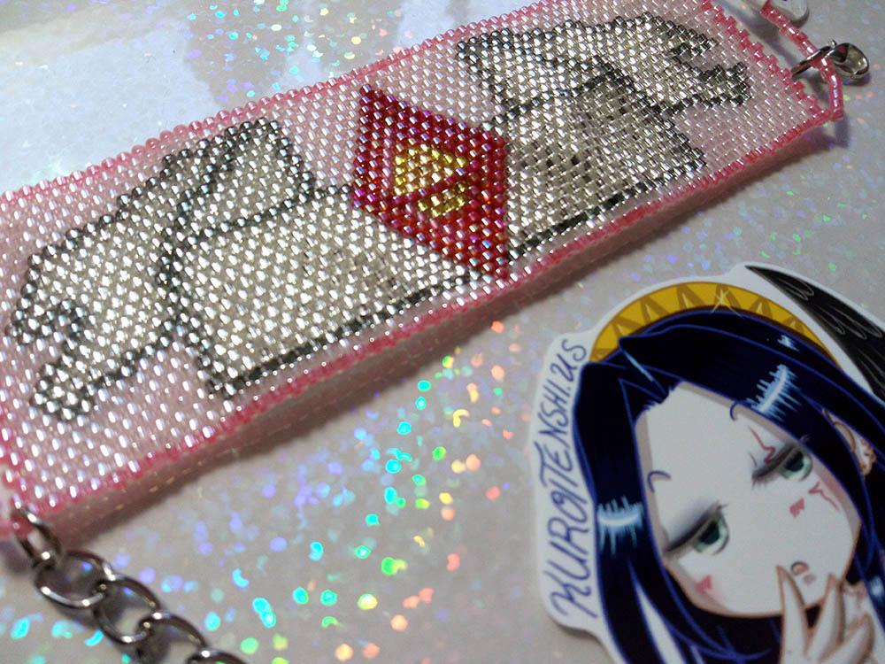SM Starseed with Ribbon Handmade Flat Bracelet