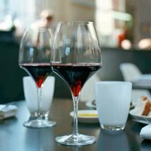 6x Italesse Tiburon Medium Lead Free Xtreme Crystalline 500cc Red Wine Glasses image 2