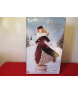 2000 Barbie Victorian Ice Skater Special Edition Xmas Winter Music box s... - $33.65