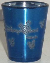 Disney Guest Blue Shot Glass Orlando Miceky Mouse Icon - $19.95