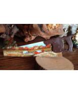Fall Homestead Mini Handsaw, Hand Painted, Fridge Magnet, Metal Art, Gif... - $12.50