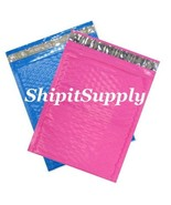 2-500 #0 6.5x10 Poly ( Blue & Pink ) Combo Colo... - $3.49 - $93.49