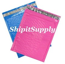 2-500 #0 6.5x10 Poly ( Blue & Pink ) Combo Color Bubble Padded Extra Wid... - $3.46+