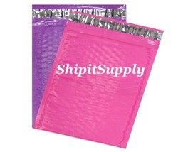 2-500 #0 6x10 Poly ( Pink & Purple ) Color Bubble Padded Mailers Fast Sh... - $3.49+