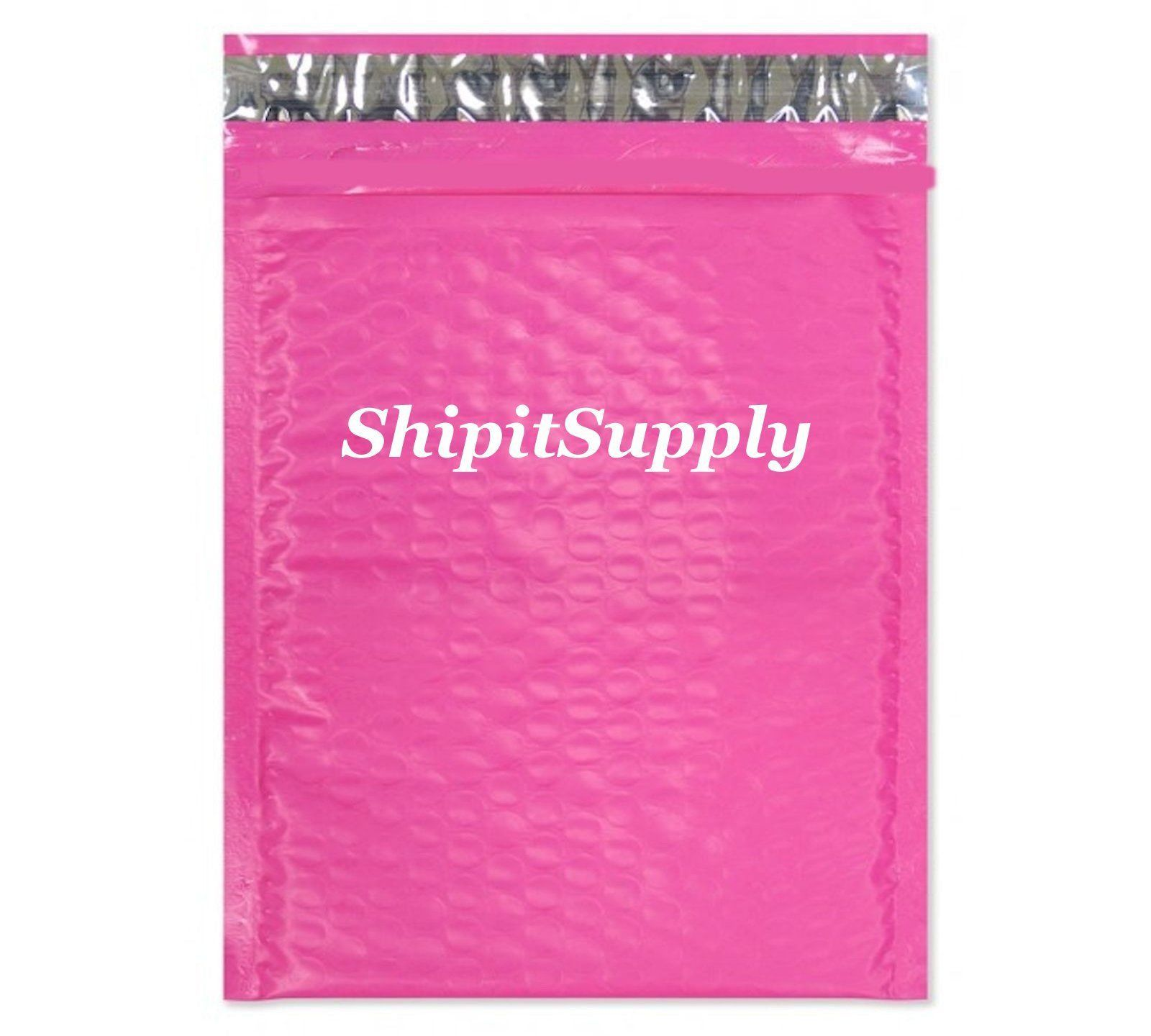 1-500 #0 6x10 Poly ( Pink ) Color Bubble Padded Mailers Extra Wide 6.5x10