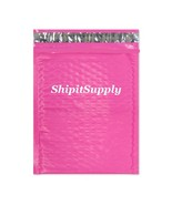 1-500 #0 6x10 Poly ( Pink ) Color Bubble Padded Mailers Extra Wide 6.5x10  - $2.96+
