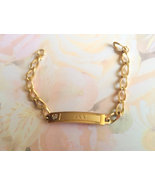 Vintage Name ID Bracelet, Ann Signature, Vintag... - $20.00