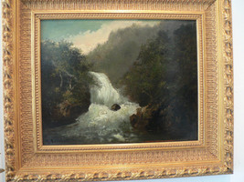 Antique Gustave Courbet original oil painting o... - $16,000.00