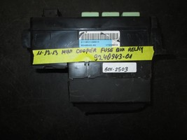 11 12 13 Mini Cooper Fuse Box Relay #9240943-01 *See Item* - $69.25