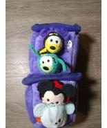 Disney Tsum Tsum Halloween Haunted House Micro Set Mickey Minnie Goofy a... - $19.77