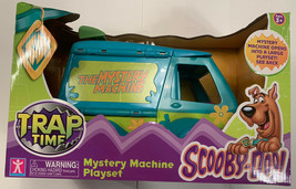 SCOOBY DOO MYSTERY MACHINE PLAYSET Trap time - $65.05