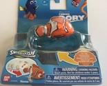 NEW Finding Dory Swigglefish Figurine Nemo Orange Black White Clownfish Disney