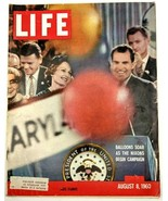 LIFE Magazine VTG August 8 1960 RARE Sample Copy Nixon Tour De France Wi... - $26.61
