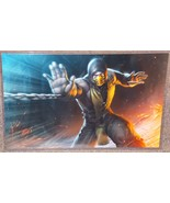 Mortal Kombat Scorpion Glossy Art Print 11 x 17 In Hard Plastic Sleeve - $24.99
