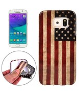 For Galaxy S6 Edge USA Flag Pattern TPU Protective Case - $108,82 MXN