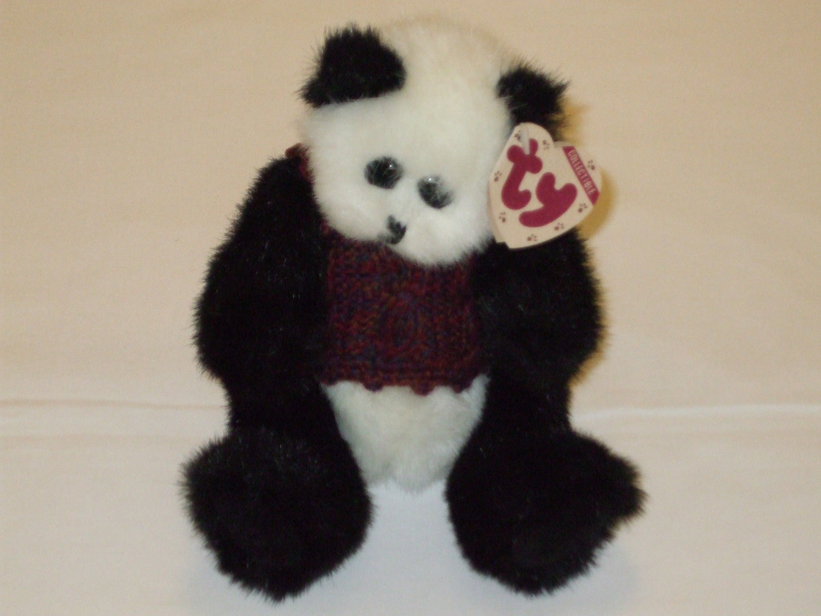 6a3b483a573 Ty Collectibles 1993 (CHECKERS) Plush Bear - and 50 similar items. S l1600