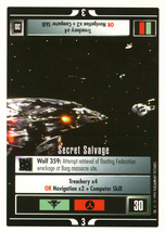 Star Trek CCG - Secret Salvage - $0.99