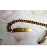 Vintage ID Bracelet, Name Bracelet, Ann Script ... - $20.00