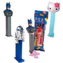 12 Favorites Pez, Each With 2 Packs Of 6 Rolls Pez Candy Refills - $26.72