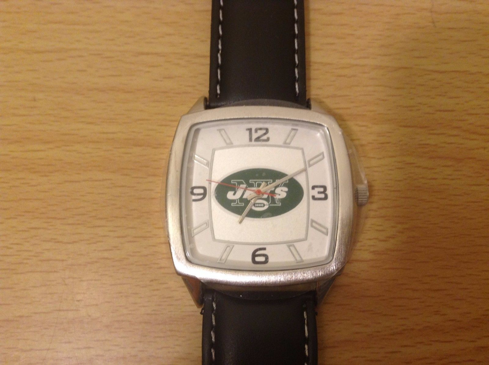 Game Time NFL Officially Licensed NY Jets Wrist Watch Genuine Leather Bands NEW