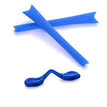 New SEEK OPTICS Rubber Kit Earsocks Nose Pads for Oakley RADAR RANGE - Blue - $10.88