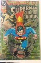 Superman Back for Good! #82: Reign of the Supermen [Comic] [Jan 01, 1993... - $16.82
