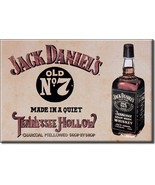 Refrigerator Magnet Jack's Daniels Made in a Quiet Tennessee Hollow - $3.25