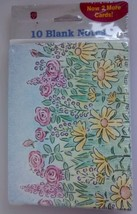 American Greetings blank note cards floral 10 cards 10 envelopes sealed ... - $7.50