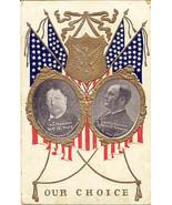 Taft For President1908 Vintage Political Campaign Post Card  - $7.00