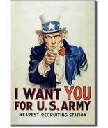 Refrigerator Magnet Uncle Sam I Want You for U.S. Army - $3.25