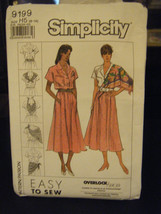 Simplicity 9199 Misses Skirt, Blouse & Scarf Pattern - Size 6-14 - $6.24