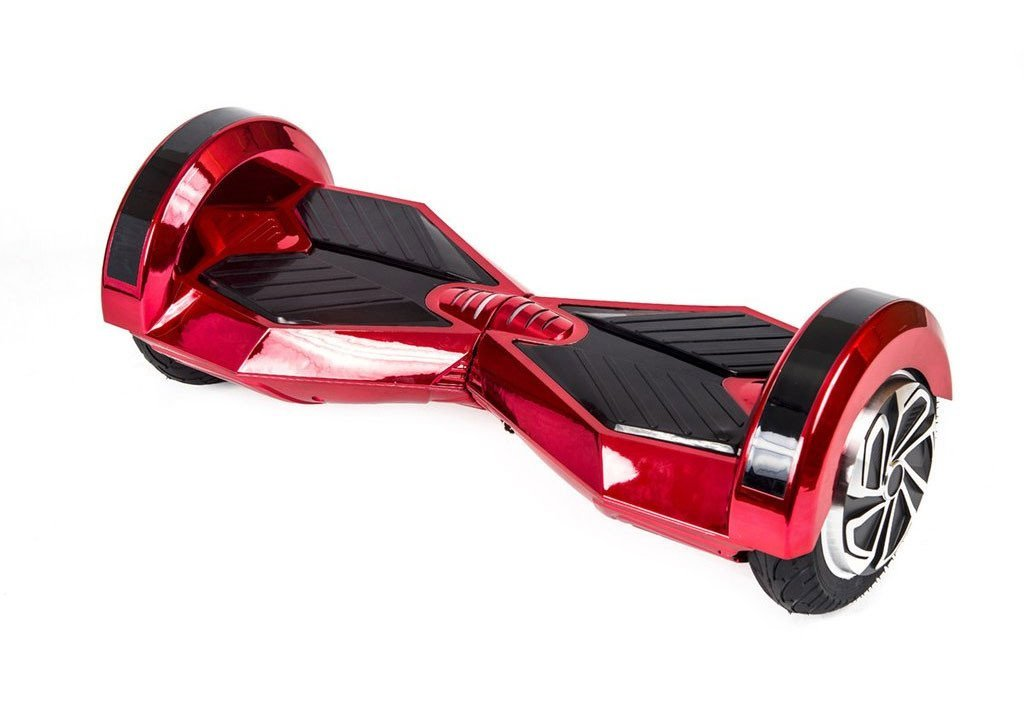 8 lambo red chrome self balancing electric scooter. Black Bedroom Furniture Sets. Home Design Ideas