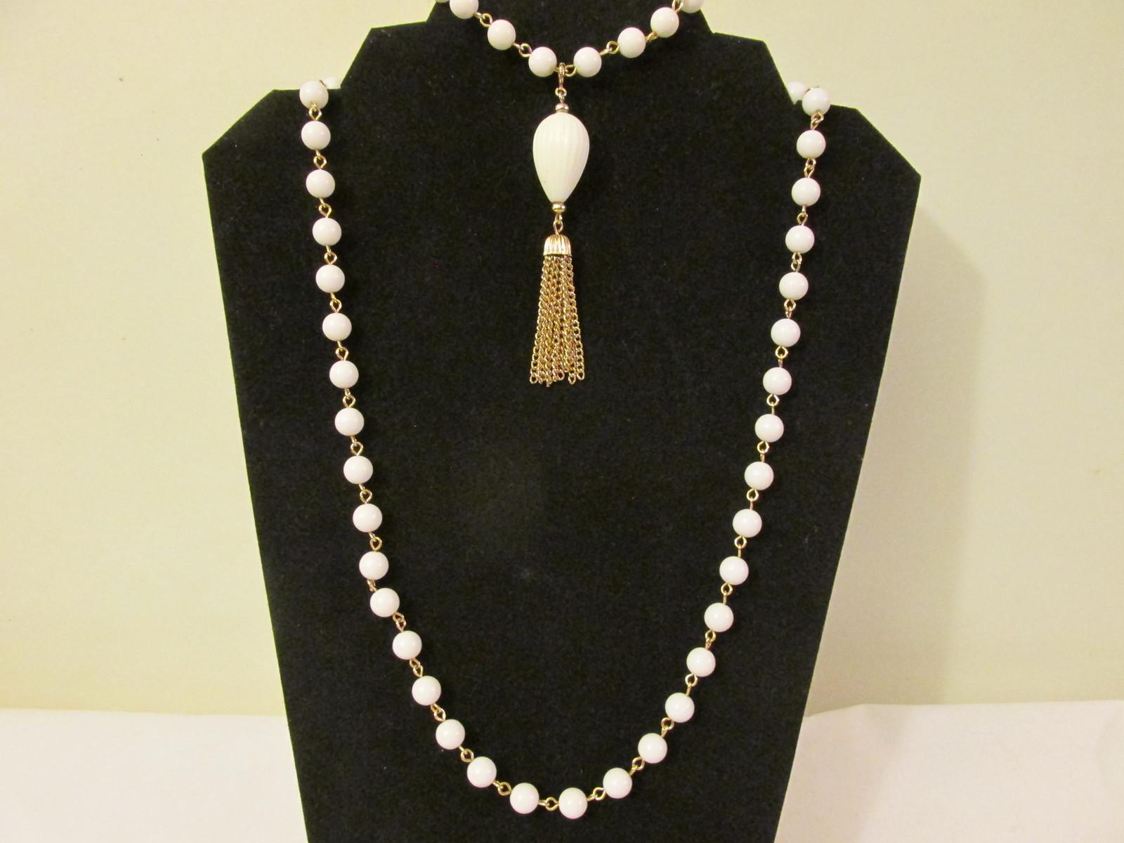 """Retro / Vintage Avon """"Sonnet"""" Convertible Necklace and Bracelet Set - 1973"""