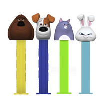 12 Secret Life Of Pets Pez, Each With 2 Packs Of 6 Rolls Pez Candy Refills - $26.72