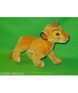 "Disney THE LION KING Applause SIMBA Plush Stuffed Animal 8"" tall  - $11.99"