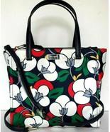 New Kate Spade new York Dawn Medium Satchel Nylon handbag Floral multi - $99.11