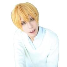 Kuroko no Basuke Kise Ryota SHORT GOLD cosplay costume PARTY wig - $37.33