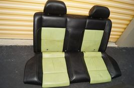 00-04 Volkswagen Vw Beetle Bug Hatchback Turbo GLS Leather Seat Set Green & BLK image 3