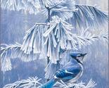 Frosty morning blue jay cross stitch pattern thumb155 crop