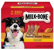 Milk-Bone Peanut Butter Flavor Dog Treats Variety Pack Biscuits Small M... - $37.10