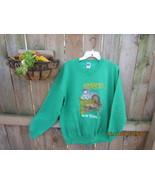 Irish Sweatshirt Vintage 1980'S Kelly Green ! - $28.00