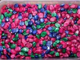 250Cts. Natural Fantastic Ruby Emerald Cabochon Gemstone Wholesale Lot 198 - $23.29