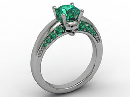 Skull Engagement Ring Temple of the Ancient Dra... - $109.00