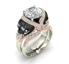 American Seller 10 k Skull Engagement Ring Set - $599.00