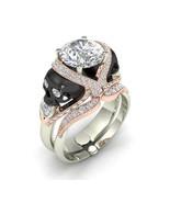 American Seller 10 k Skull Engagement Ring Set - $599.00