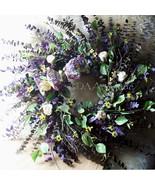 Birch Twig Wreath Indoor Swirl Wall Hanging Preserved Eucalyptus, Faux B... - $145.00