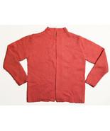 Vintage Womens SOCIETY Cardigan Sweater • Buttonless • Pink • Size Medium M - $19.75