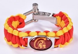 University of Southern California USC Trojans Fan Shop Unisex Paracord Wristband - $14.99