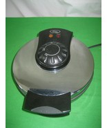 Oster Round Belgian Waffle Maker Stainless Steel 850 Watts - $15.85