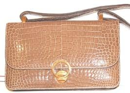 Vintage Hermes  Alligator Crocodile  Handbag Purse clutch image 2